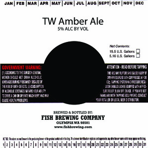 Fish Brewing Company Tw Amber Ale