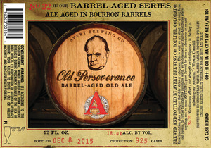 Avery Brewing Company Old Perseverance