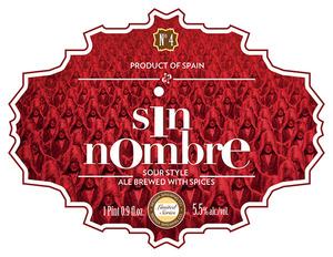 Sesma Brewing Co. Sin Nombre