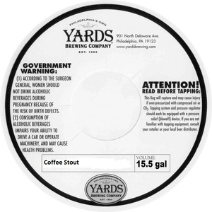 Yards Brewing Company Coffee Stout