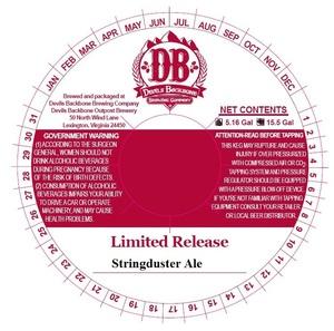 Devils Backbone Brewing Company Stringduster Ale