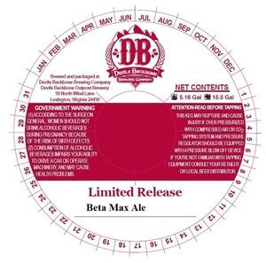 Devils Backbone Brewing Company Beta Max Ale