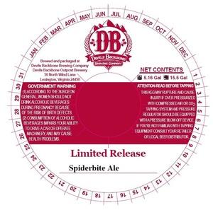 Devils Backbone Brewing Company Spiderbite Ale