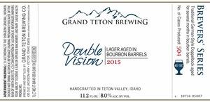 Grand Teton Brewing Company Double Vision 2015