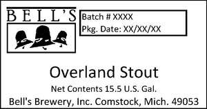 Bell's Overland Stout