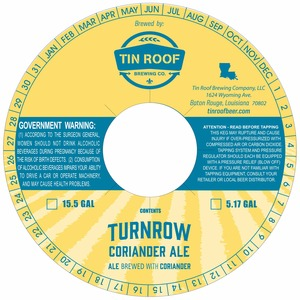 Tin Roof Brewing Co. Turnrow