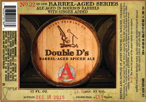 Avery Brewing Company Double D's Barrel-aged Spiced Ale