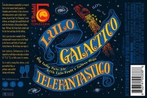 5 Rabbit Lulo Galactico Telefantastico
