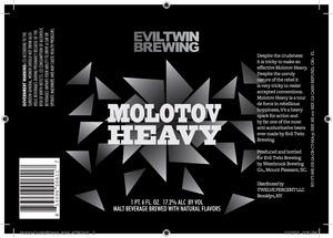 Evil Twin Brewing Molotov Heavy