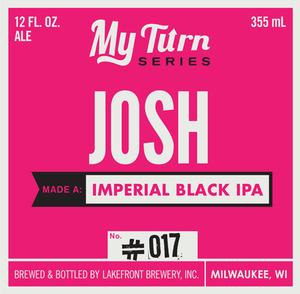 Lakefront Brewery Josh Mada A Imperial Black IPA