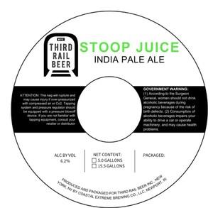 Third Rail Beer Stoop Juice