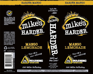 Mike's Harder Mango Lemonade
