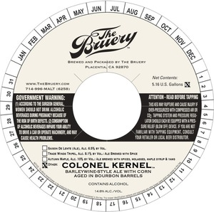 The Bruery Colonel Kernel