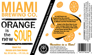 Orange Is The New Sour