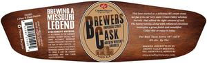 Crown Valley Brewing Brewers Cask