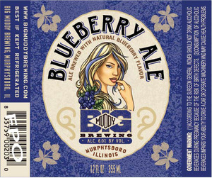 Big Muddy Brewing Blueberry Ale