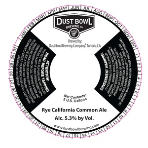 Rye California Common Ale