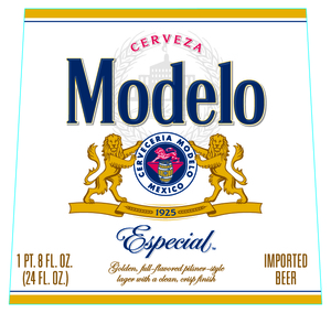 Modelo Especial Bottle Can Beer Syndicate