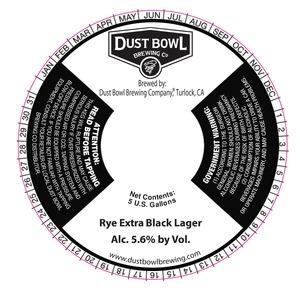 Rye Extra Black Lager