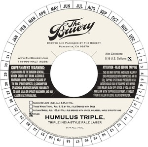 The Bruery Humulus Triple