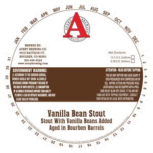 Avery Brewing Company Vanilla Bean Stout