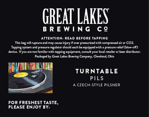 The Great Lakes Brewing Co. Turntable