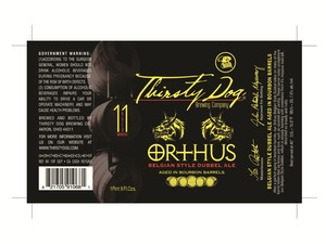 Thisty Dog Brewing Co Orthus