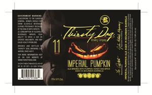 Thirsty Dog Brewing Co Imperial Pumpkin Ale