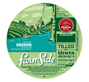Uinta Brewing Co Farmside Saison