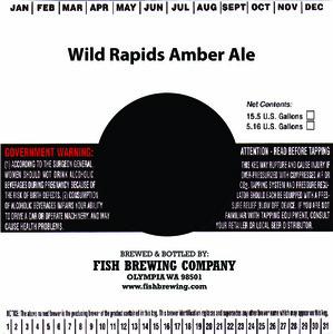 Fish Brewing Company Wild Rapids Amber Ale