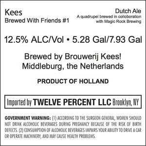 Kees Brewed With Friends #1