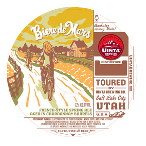 Uinta Brewing Co Biere De Mars