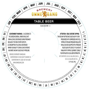 Ommegang Table Beer