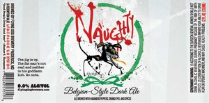 Flying Dog Naughty Belgian Style Dark Ale