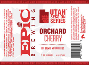 Epic Brewing Company Orchard Cherry