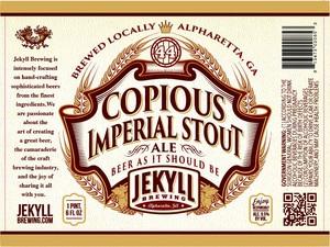 Copious Imperial Stout
