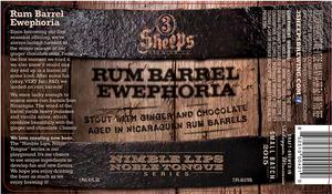 3 Sheeps Brewing Co. Rum Barrel Ewephoria