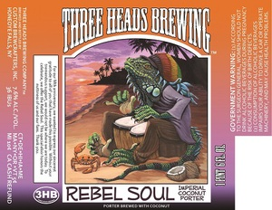 Three Heads Brewing Rebel Soul