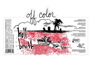 Off Color Brewing Hell Broth