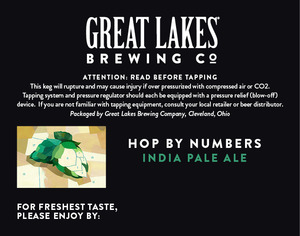 The Great Lakes Brewing Co. Hop By Numbers