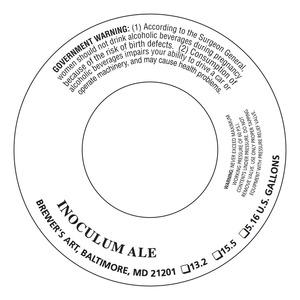 The Brewer's Art Inoculum Ale