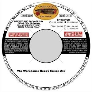 The Warehouse Hoppy Saison
