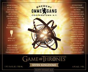 Ommegang Seven Kingdoms