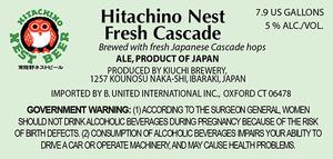 Hitachino Nest Cascade