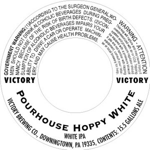 Victory Pourhouse Hoppy White