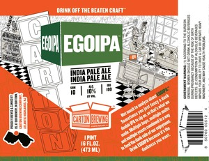 Carton Brewing Co. Egoipa