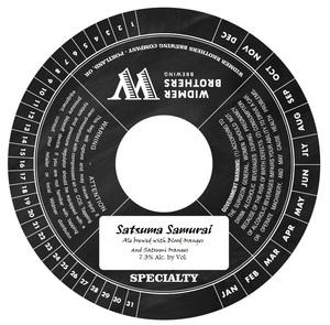 Widmer Brothers Brewing Company Satsumi Samurai