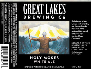 The Great Lakes Brewing Co. Holy Moses