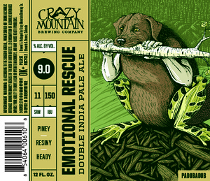 Crazy Mountain Brewing Company Emotional Rescue