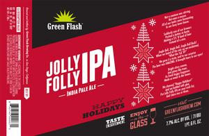 Green Flash Brewing Company Jolly Folly IPA